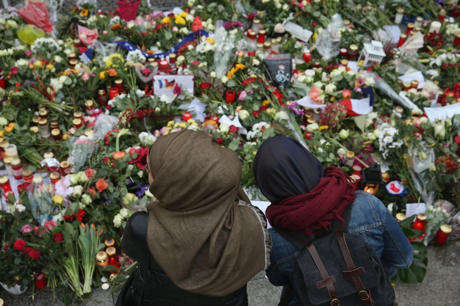 Protest al musulmanilor la Berlin
