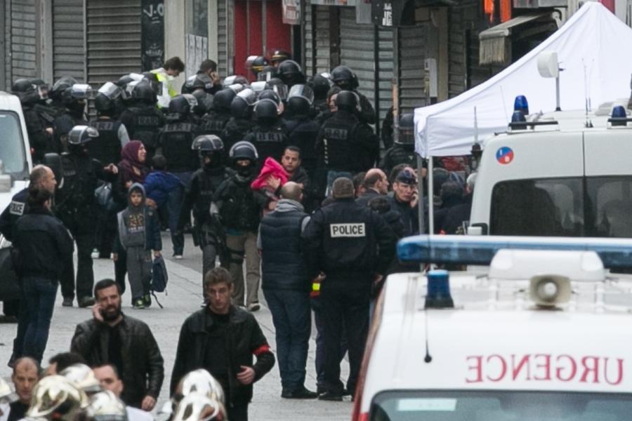 Operațiune antiteroristă la Paris