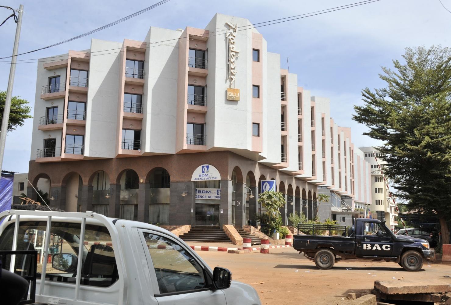 Hotelul Radisson Blu din Bamako