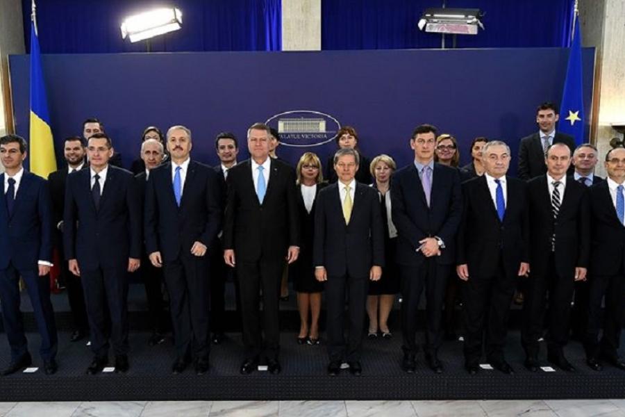 Guvernul României și președintele Klaus Iohannis