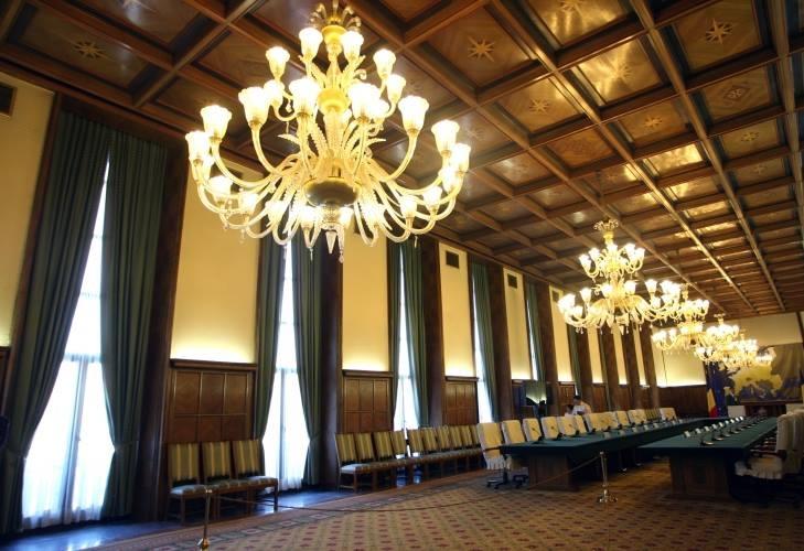 Sala de sedinte a Guvernului