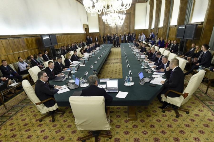 Ședință de Guvern, Palatul Victoria