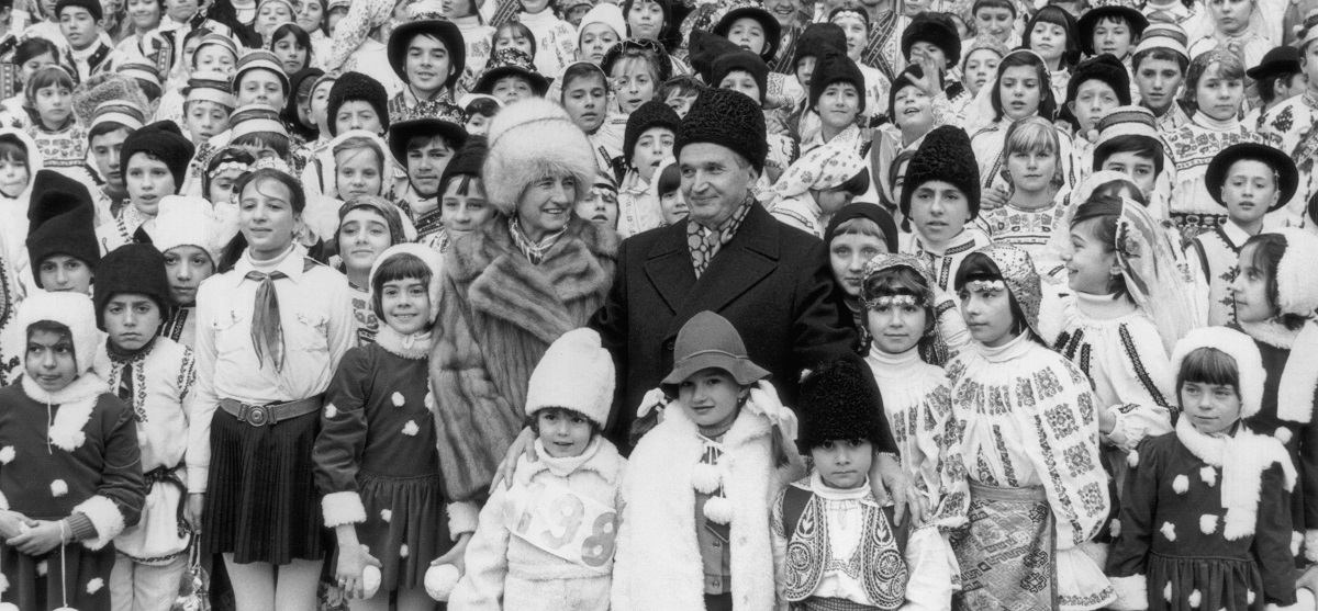 Nicolae și Elena Ceaușescu, 1985