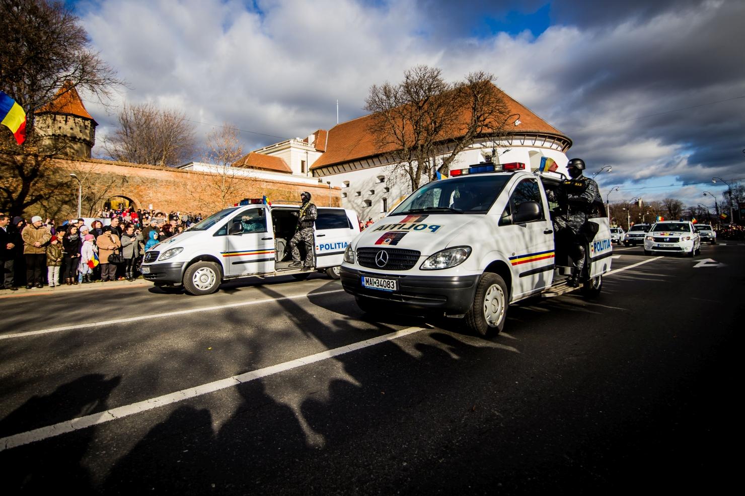 Parada de Ziua Națională la Sibiu