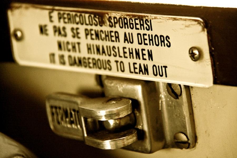 E pericoloso sporgersi