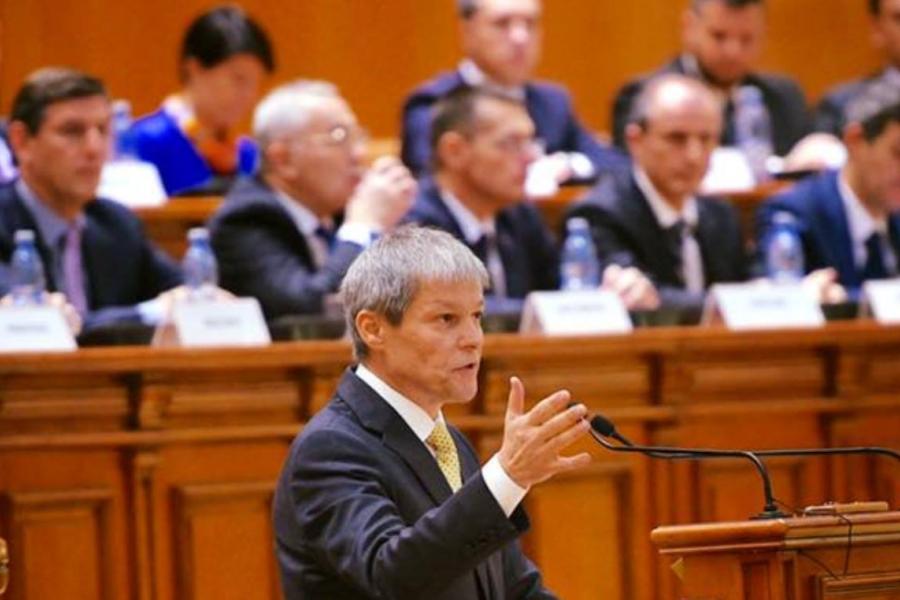 Ciolos in parlament