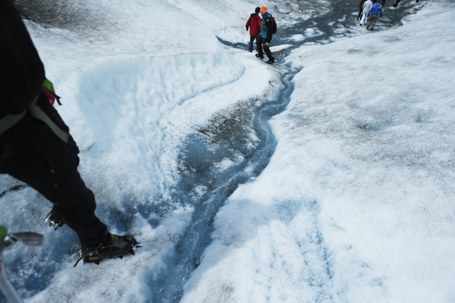 Topirea ghețarilor