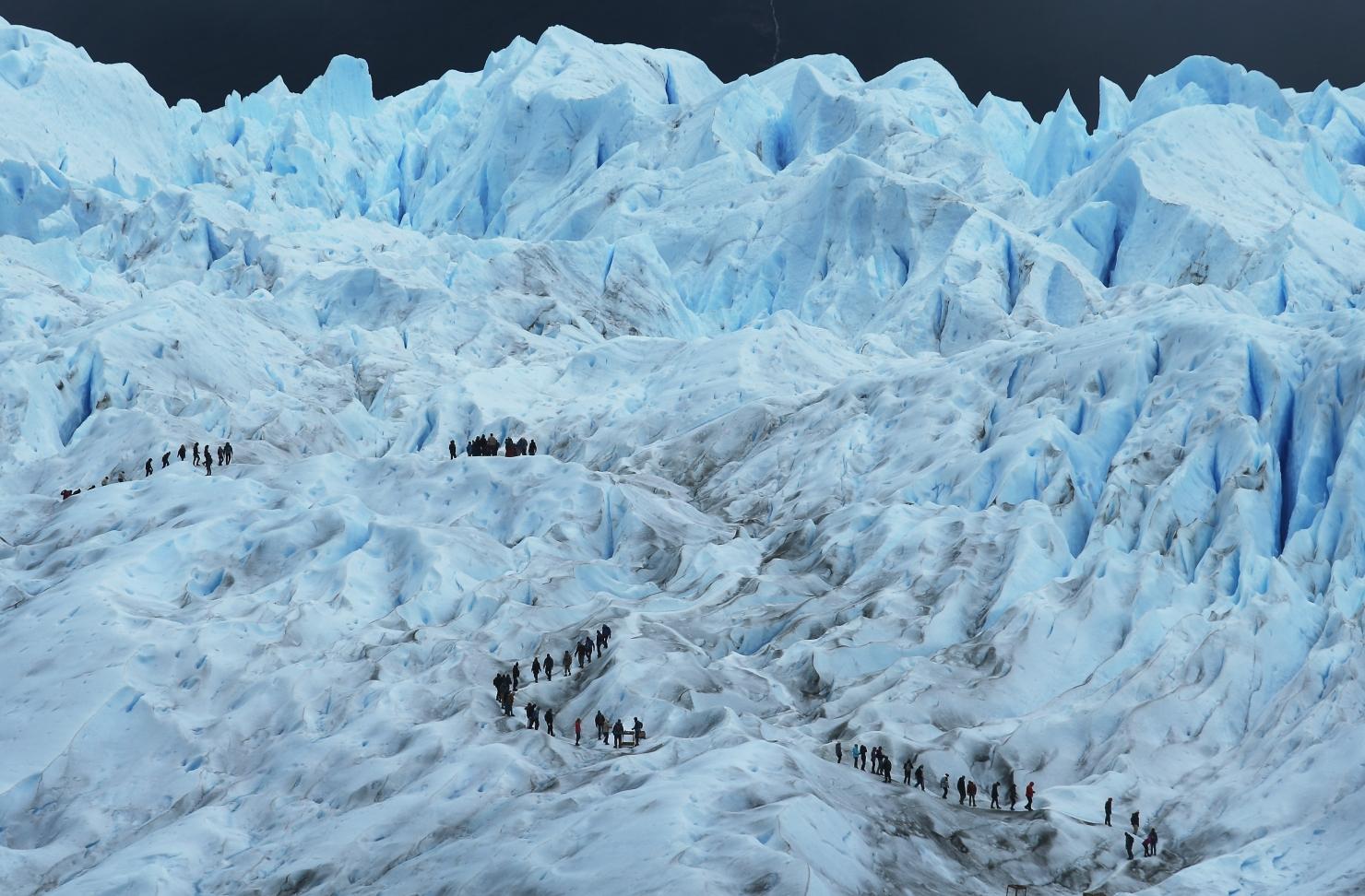 Un ghețar din Patagonia
