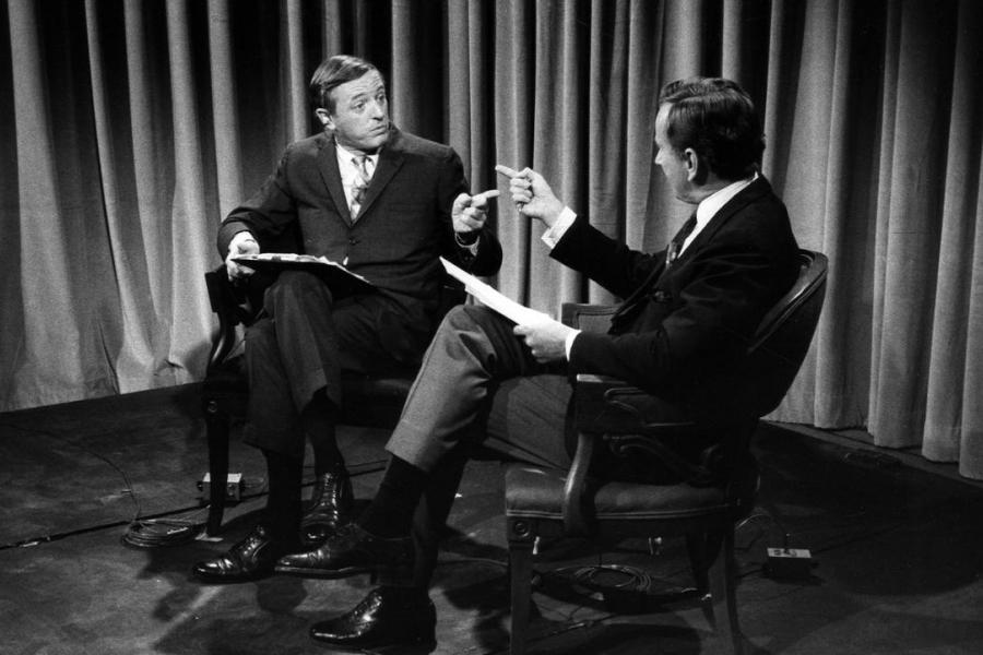 William F. Buckley Jr. și Gore Vidal