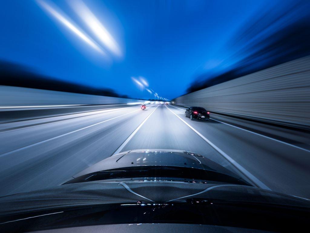 Viteză pe autostradă