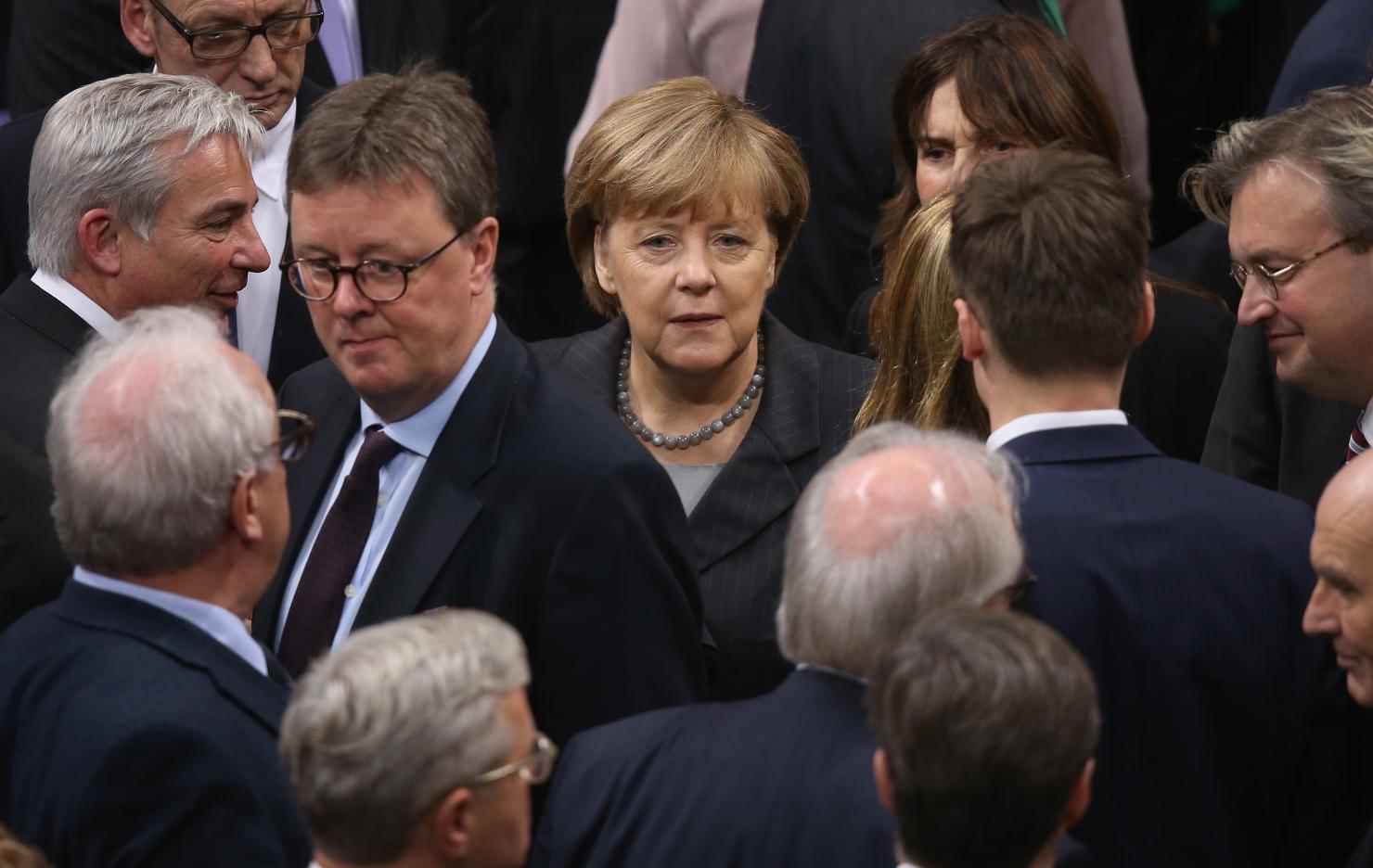 Cancelarul german, Angela Merkel