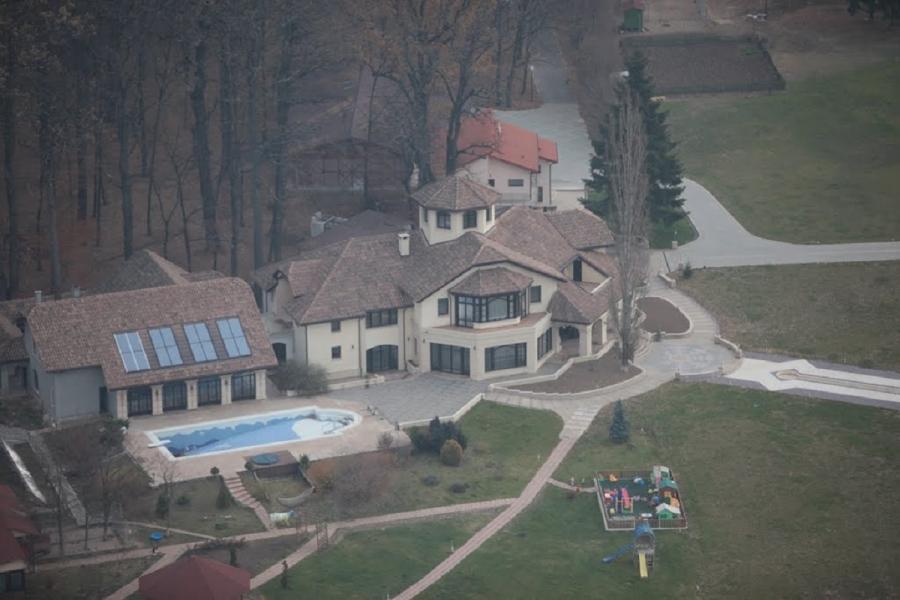 Casa lui Remus Truică, în Pădurea Snagov