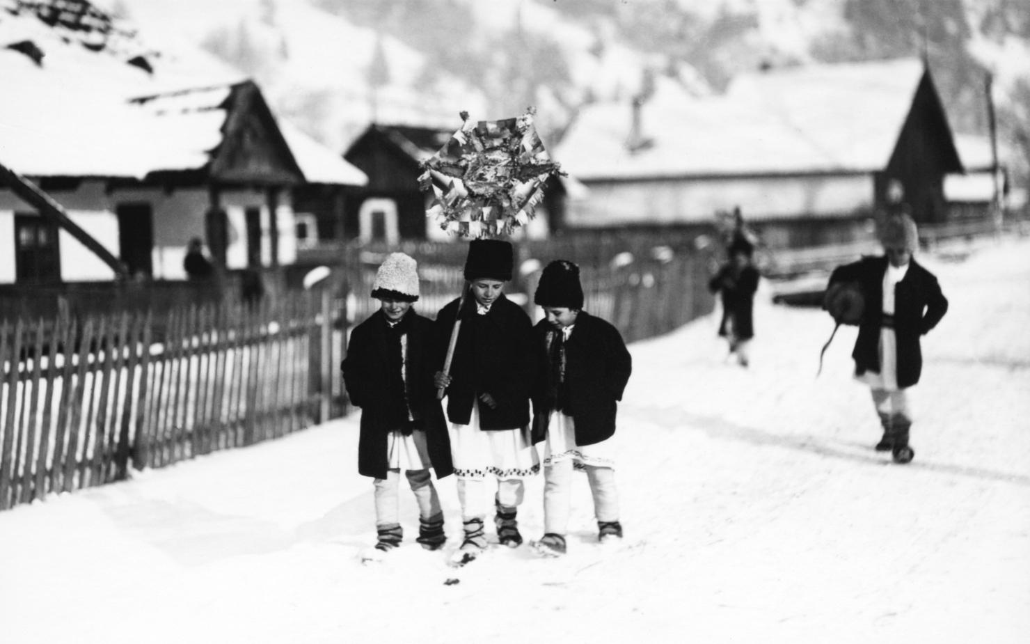 copii prin zapada