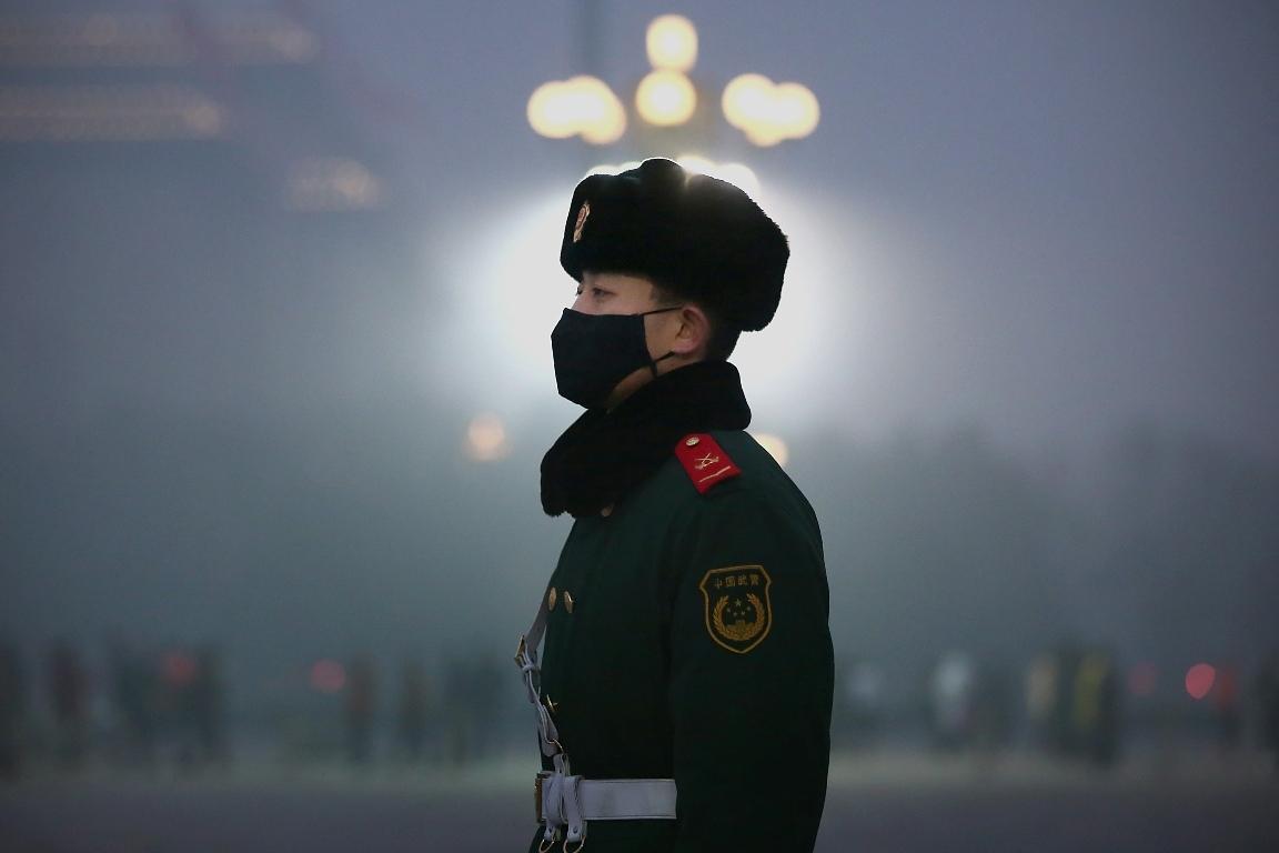 Beijing în smog