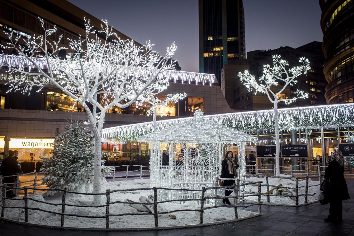Pregătiri de Crăciun la Istanbul