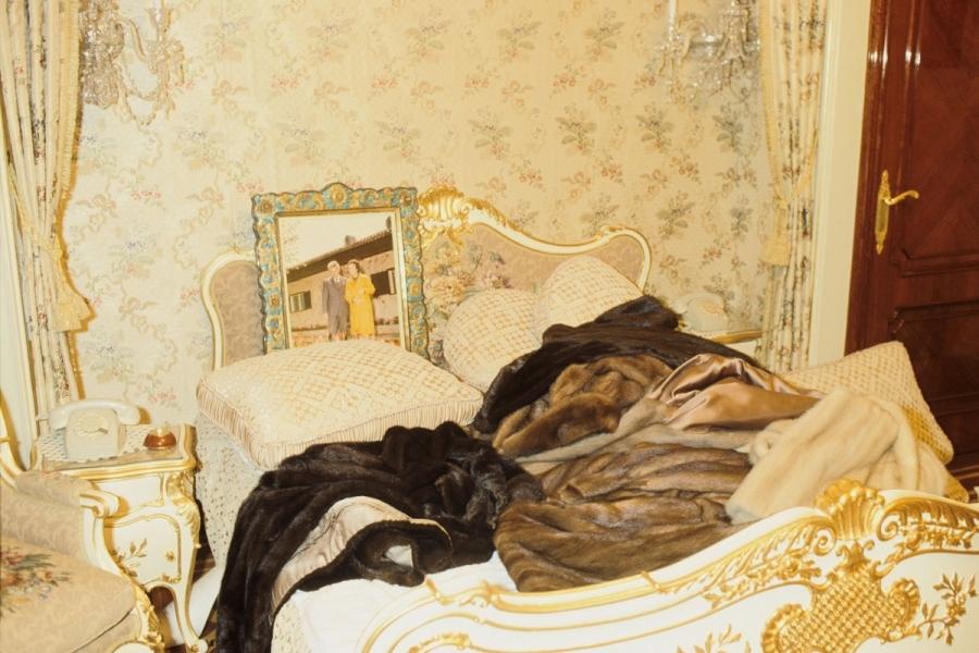 Dormitorul familiei Ceaușescu