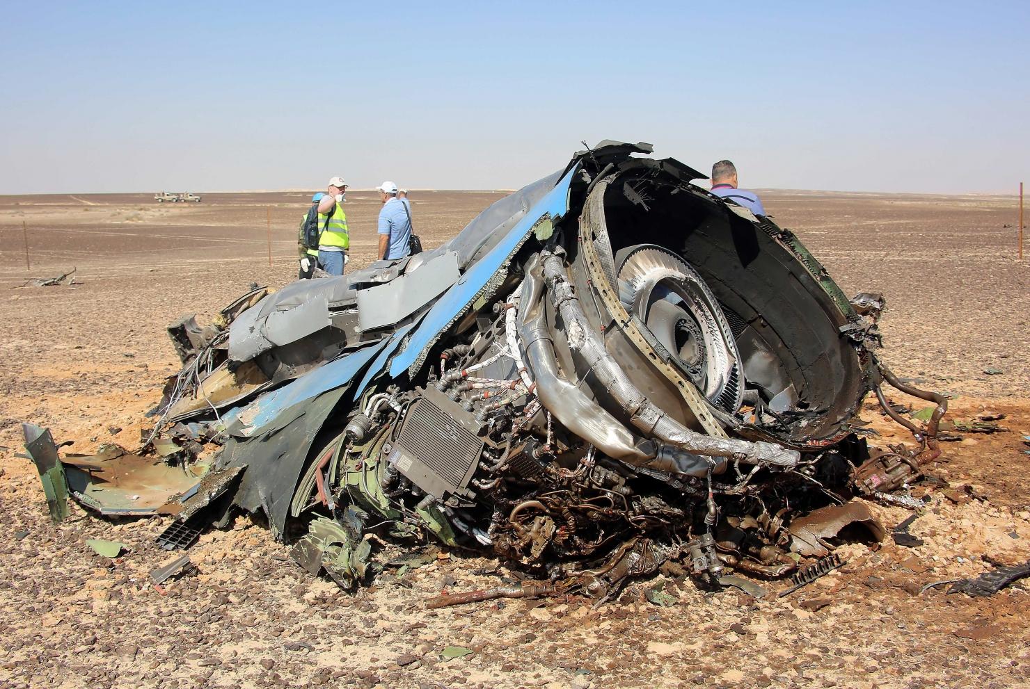 Avion rusesc prăbușit în Egipt