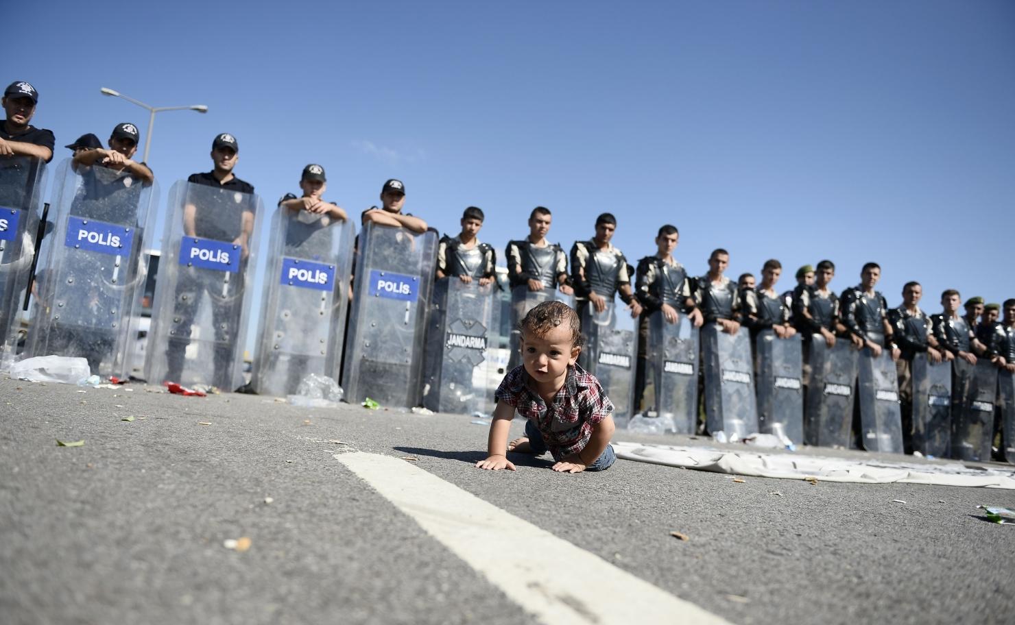 Bebeluș în Turcia