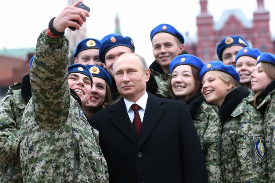 Selfie Putin