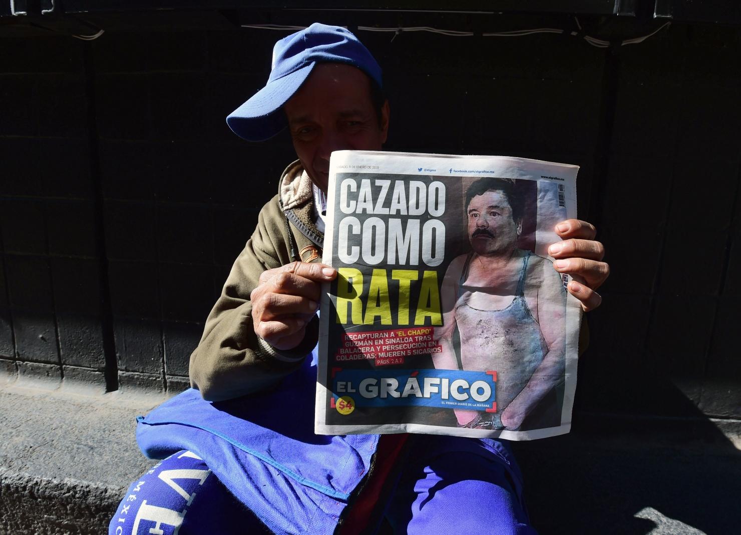 Chapo in ziar