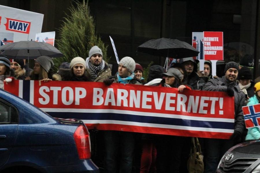 Protest împotriva Barnevernet
