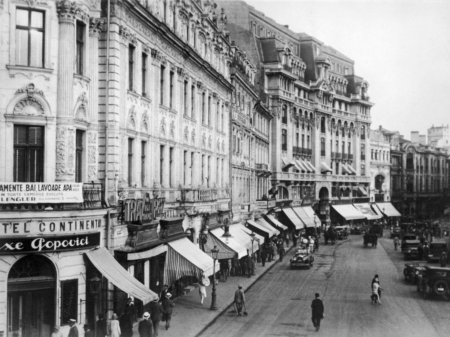 Hotelul Continental, în anii '20