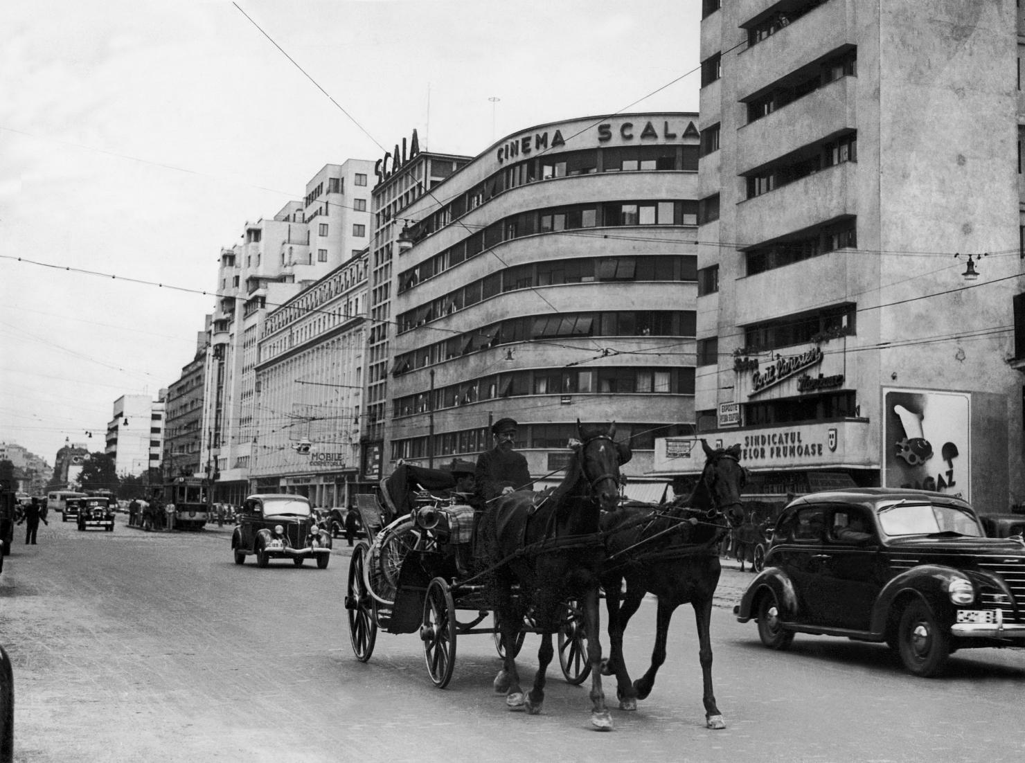 Cinema Scala, în anii '40