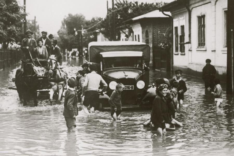 Inundație în București, în 1935