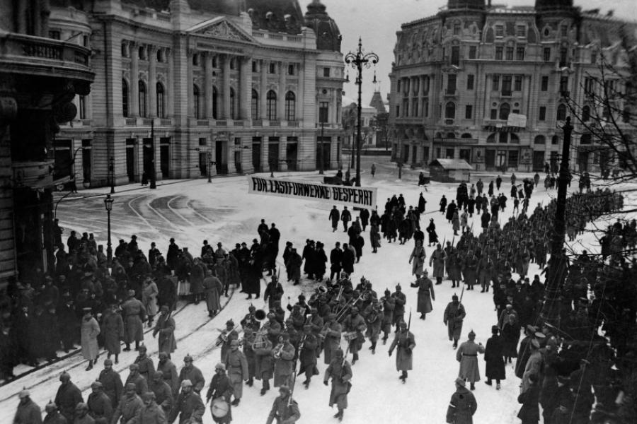 Trupele germane în București