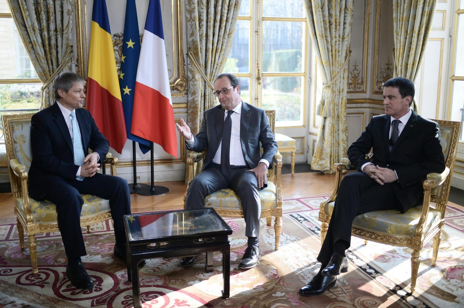 Premierul Manuel Valls, prezent la întâlnire