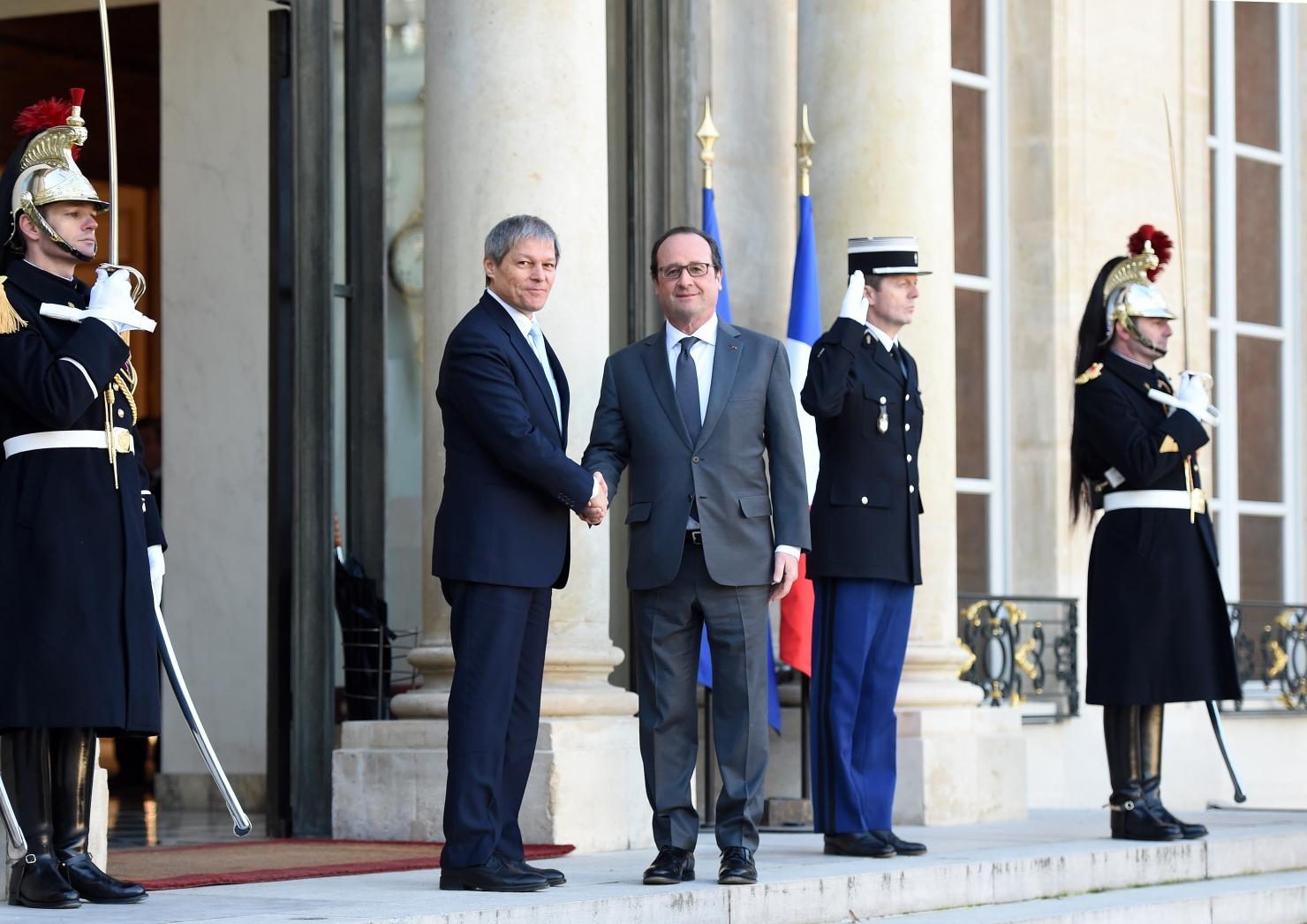 Hollande în România