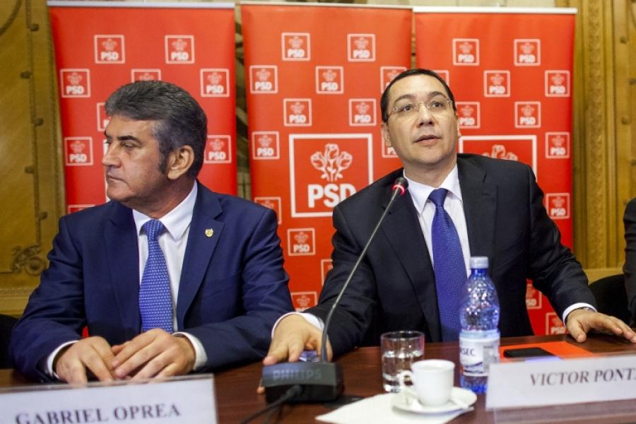 Gabriel Oprea și Victor Ponta