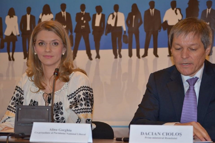 Alina Gorghiu Dacian Cioloș
