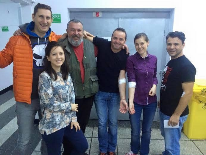 Donatori benevoli de sânge