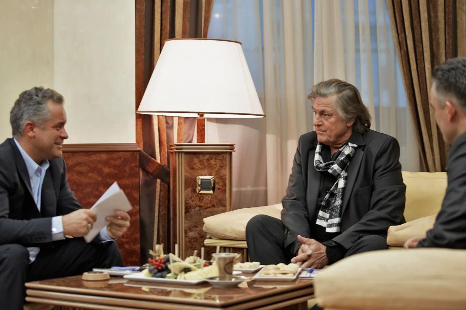Florin Piersic și Vlad Plahotniuc