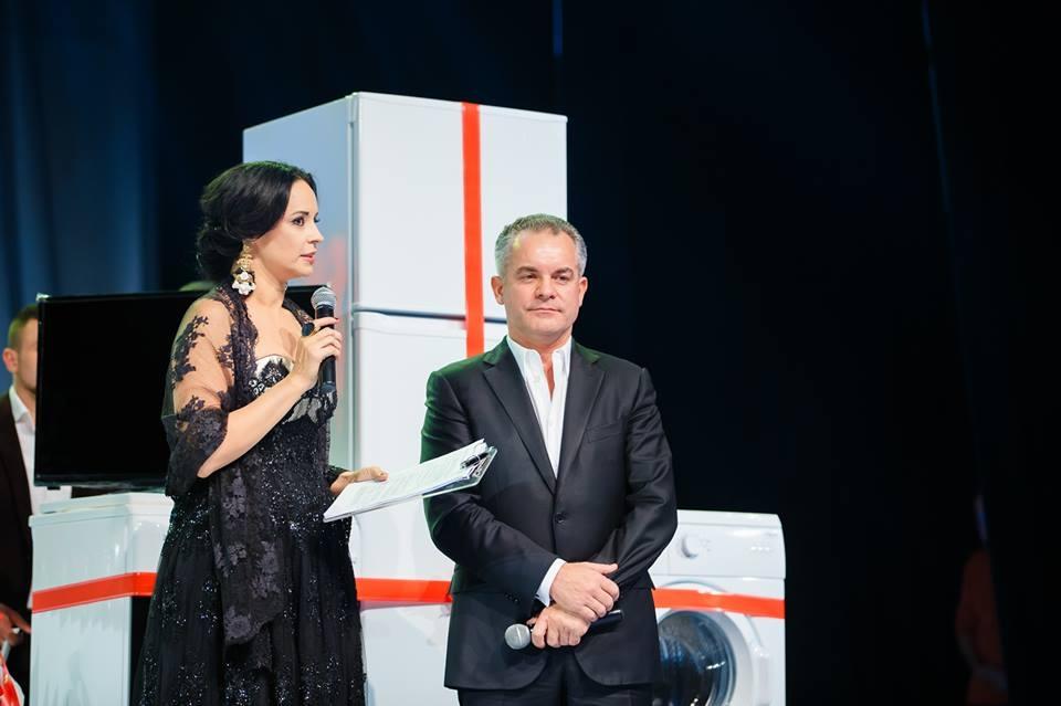 Plahotniuc și Andreea Marin