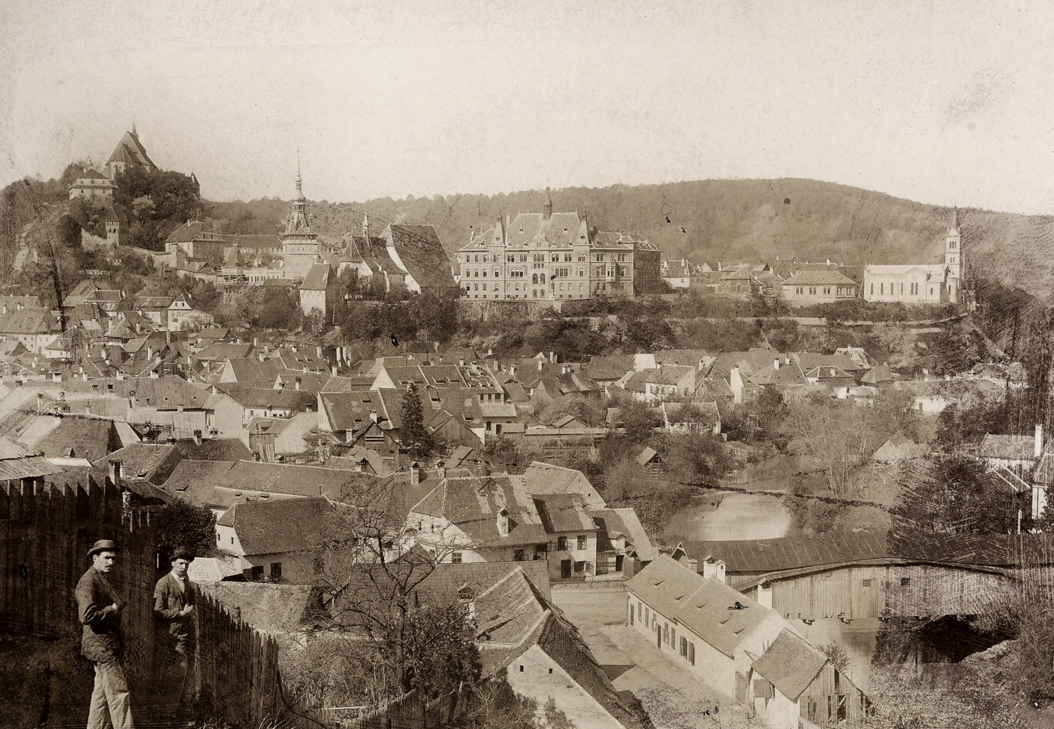 Sighișoara la 1900