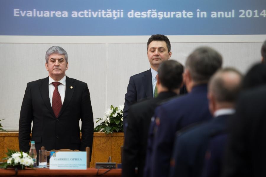 Tiberiu Nițu și Gabriel Oprea