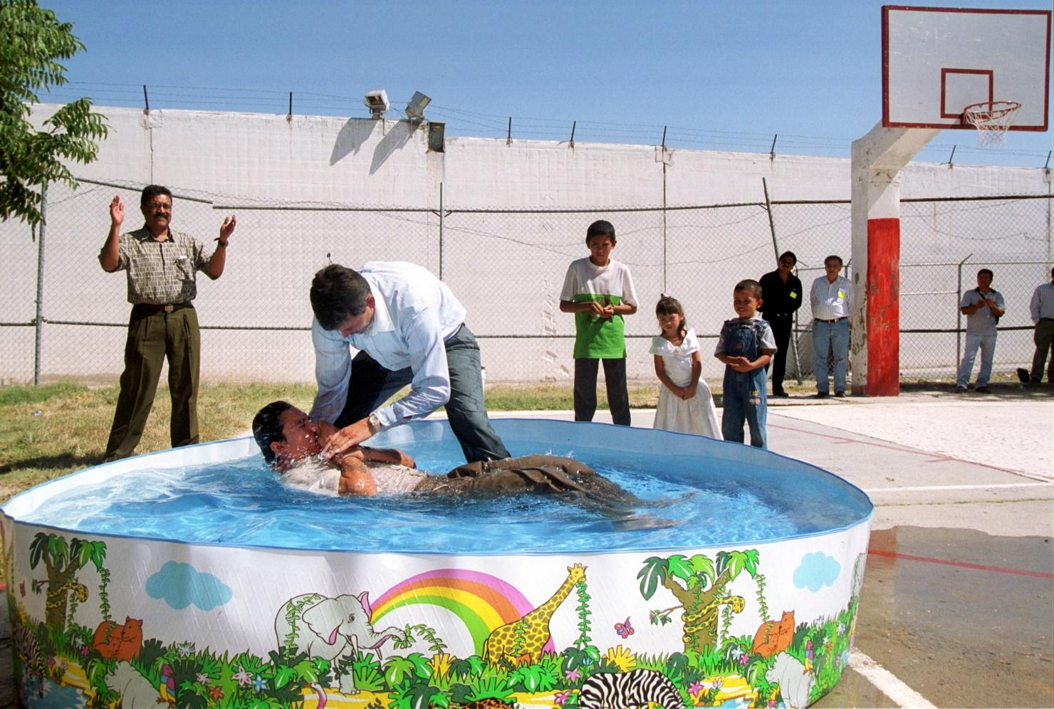 Botez în închisoare