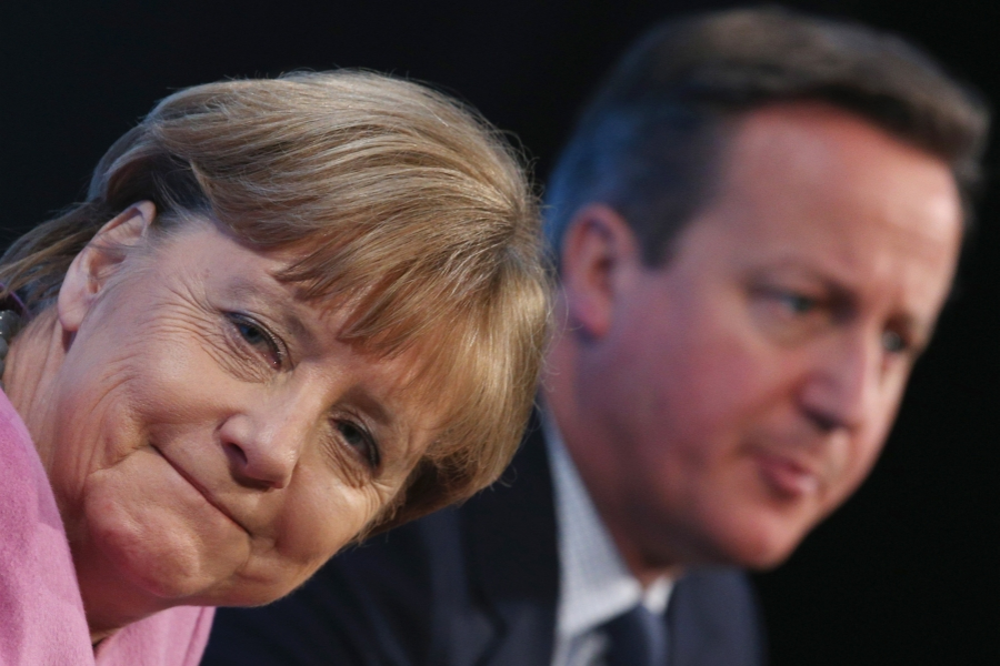 Întâlnirea dintre Angela Merkel și David Cameron