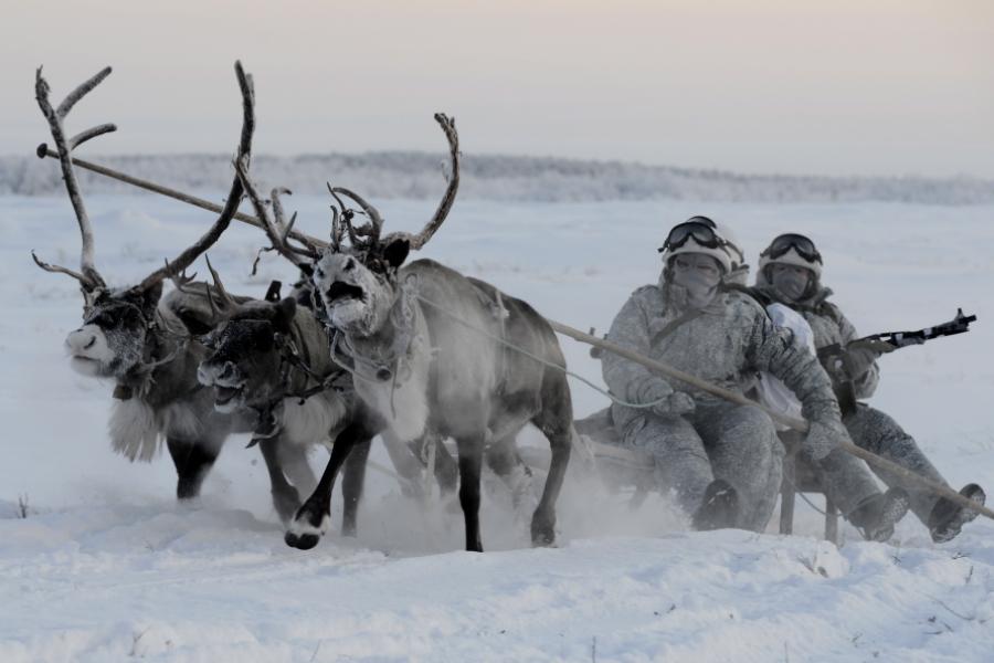 Exercițiile arctice ale armatei ruse