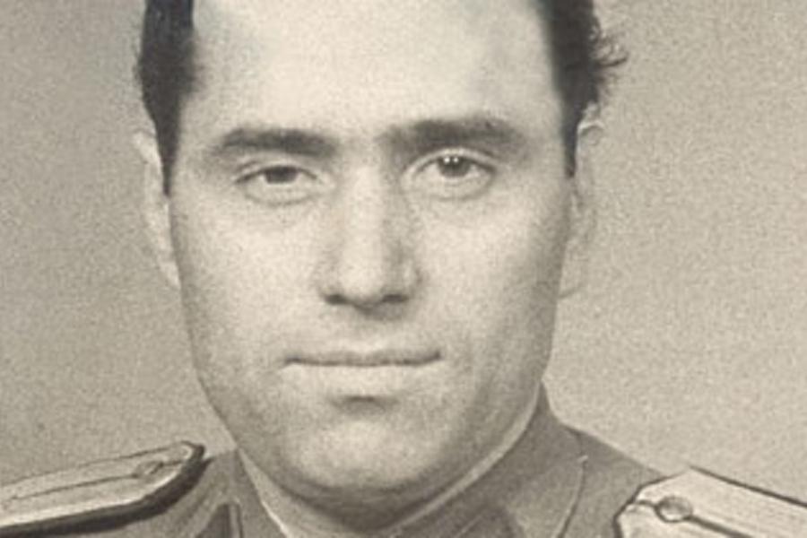 Alexandru Vișinescu, în perioada când era comandantul penitenciarului Râmnicu Sărat