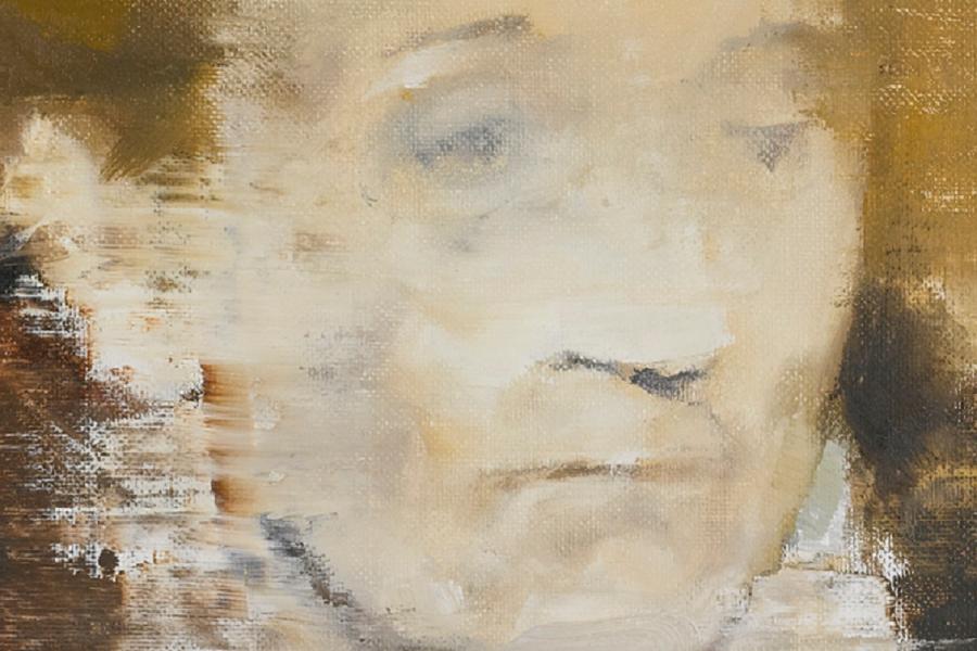 Elena Ceaușescu, pictată de Adrian Ghenie