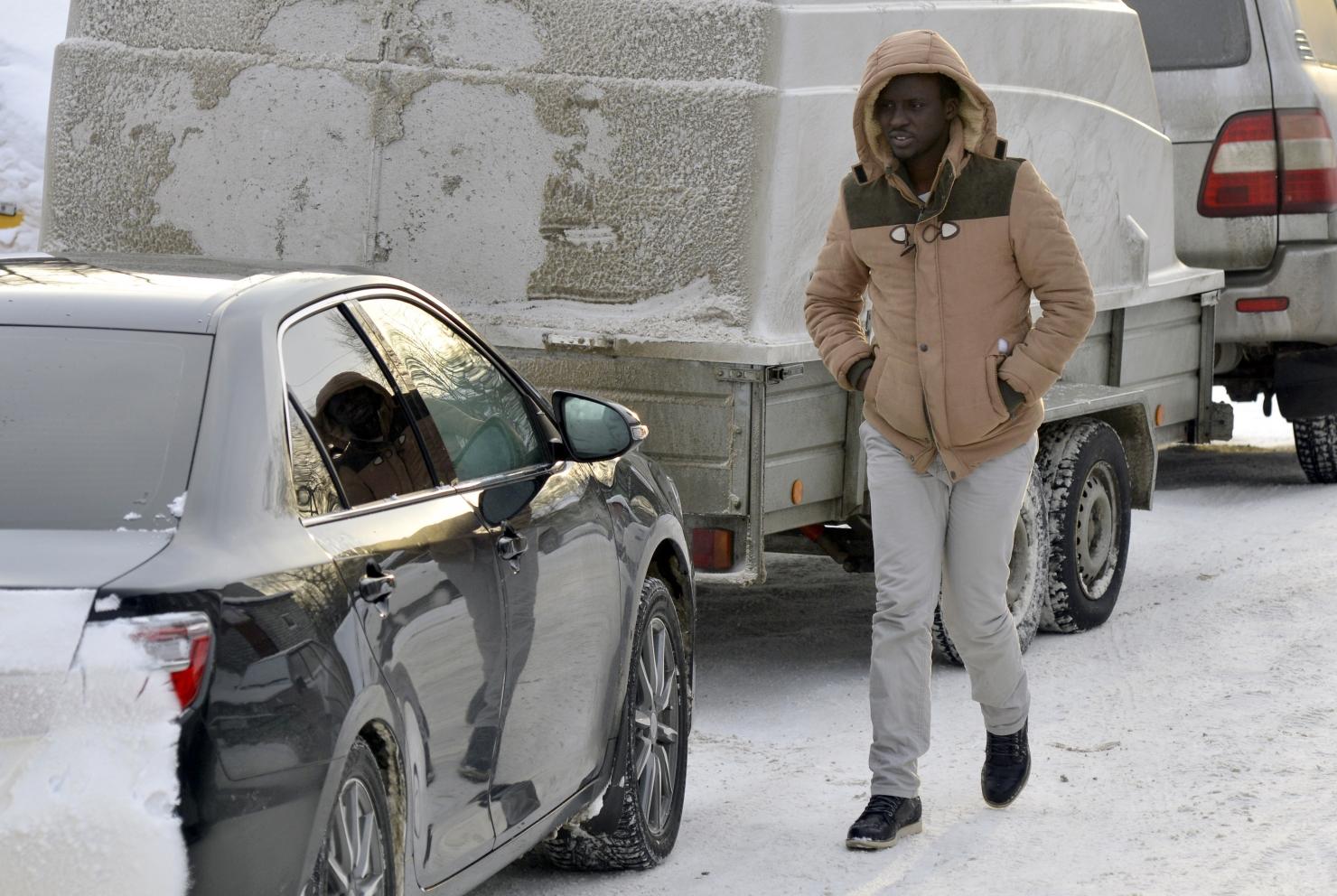 Refugiat la granița ruso-finlandeză