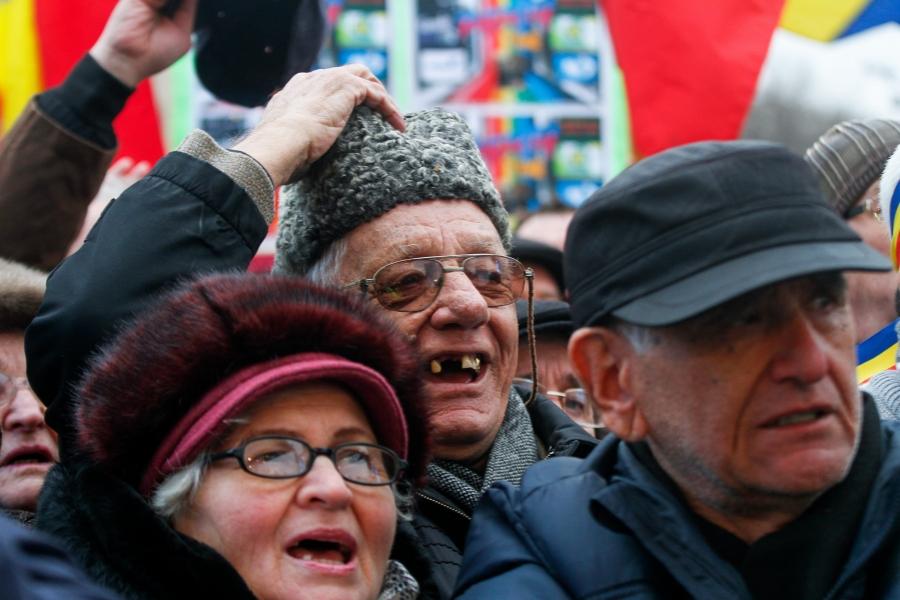 Proteste pensionari 18 februarie