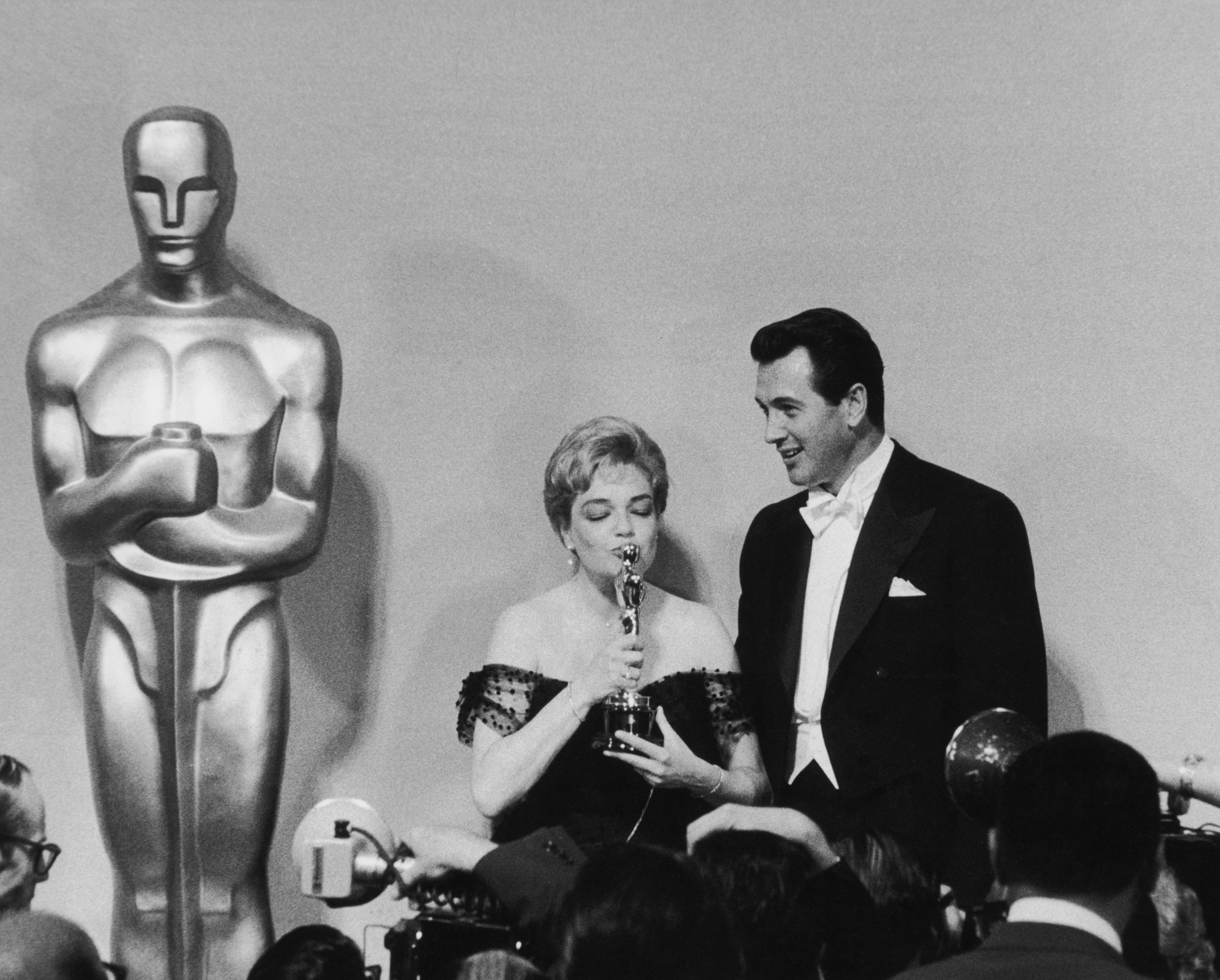 Simone Signoret și Rock Hudson