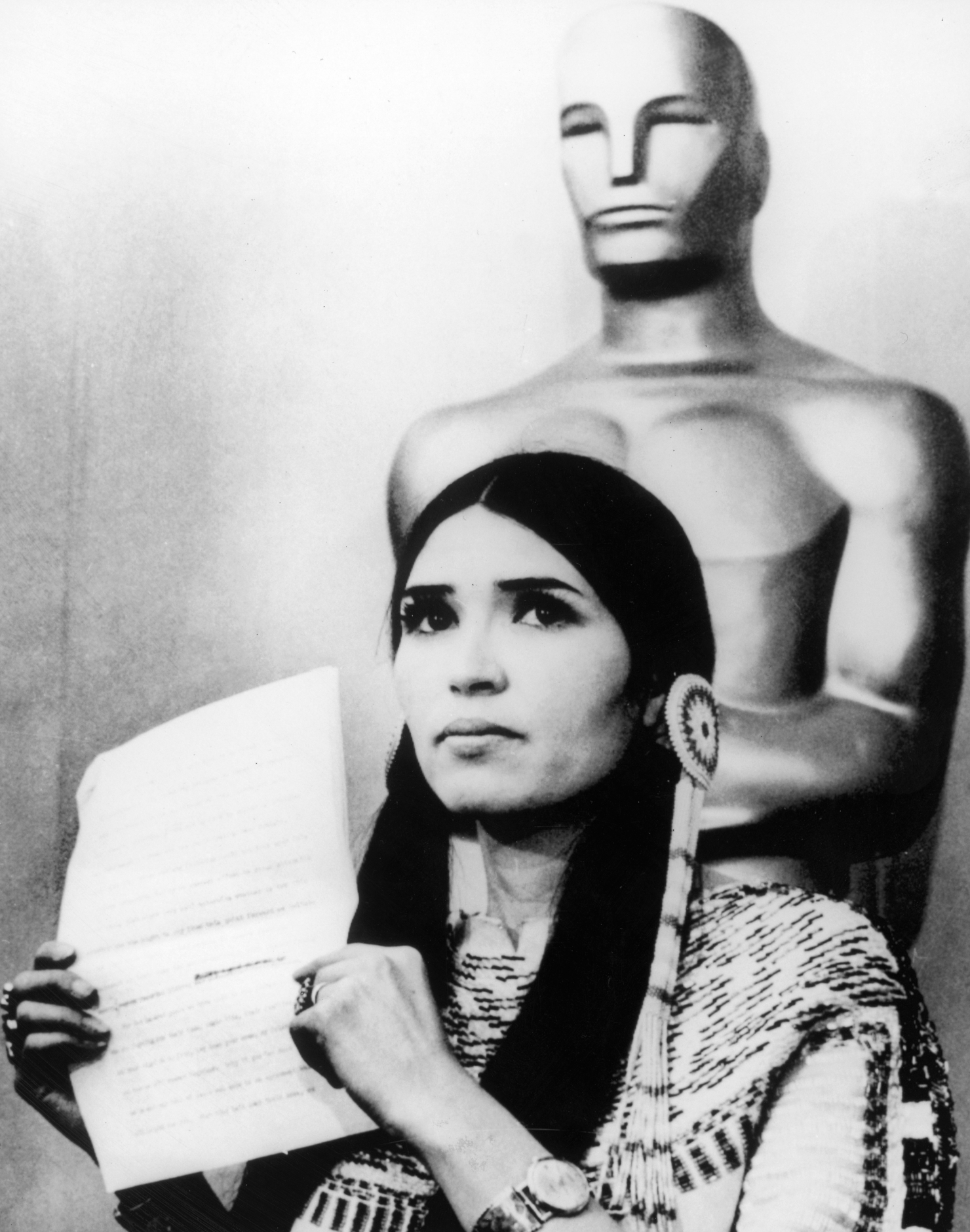 Marlon Brando a refuzat Oscarul