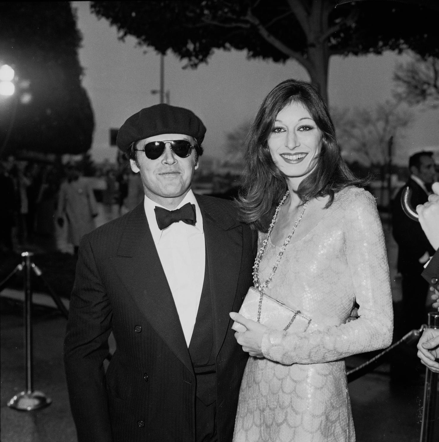 Jack Nicholson și Anjelica Huston