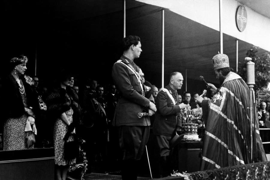Regele Mihai in 1940
