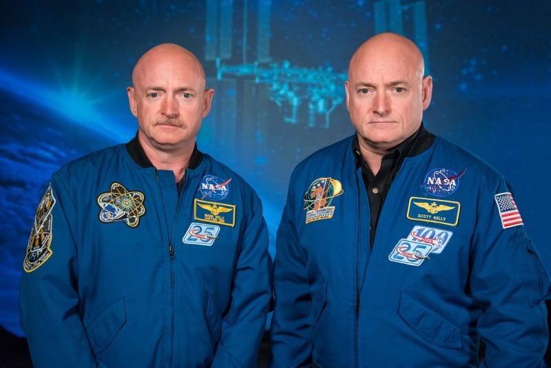 Mark și Scott Kelly